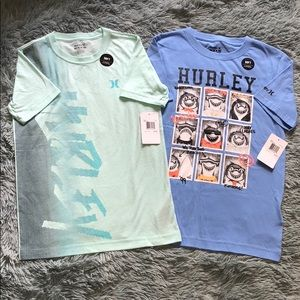 🌟NWT🌟 Hurley Tee - Lot of Two